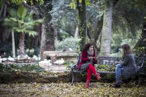 Departir sobre mediación con Rocío